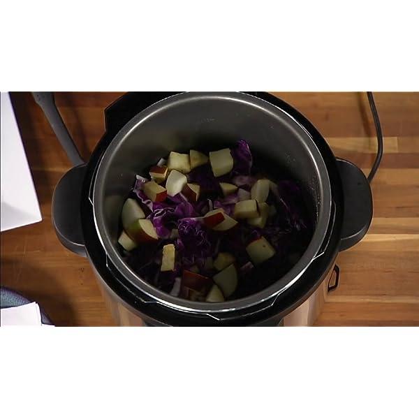 Presto 02141 6-Quart Electric Pressure Cooker, Black, Silver 5