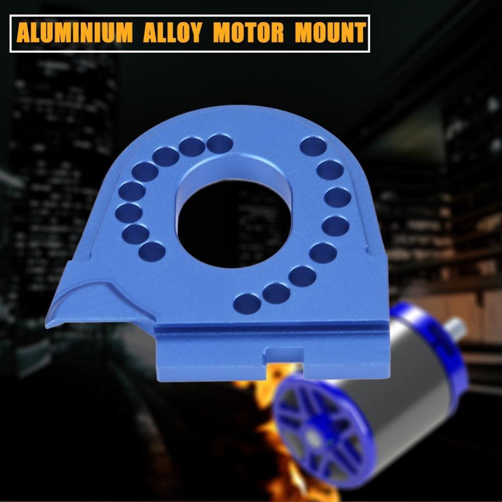 Dilwe Supporto per Auto RC Blu Supporto per Motore RC Supporto in Lega di Alluminio per Traxxas TRX4 Crawler