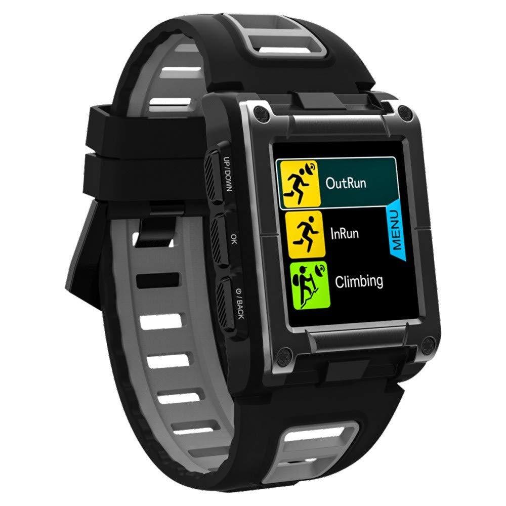 Lovewe Professional IP68 Waterproof Swimming Smart Watch Fitness Tracker Bluetooth GPS Wristband Colorful UI (Gray) by Lovewe_Smart Watch (Image #2)