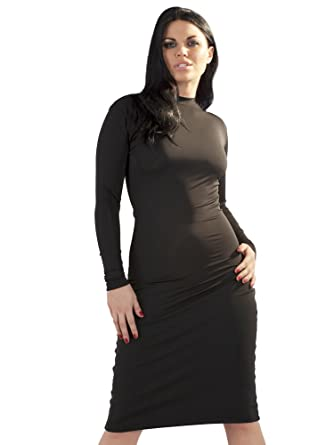 Purr Lingerie Womens Dress in Lycra Black Size UK 10-12 ...
