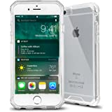iPhone 6s Case,Baesan Armor Transparent Clear TPU Frame Shockproof Protective Case Scratch Resistant Fit Thin and Slim PC Hard Panel for Apple iPhone 6/6s (4.7'')(2016) -- Clear