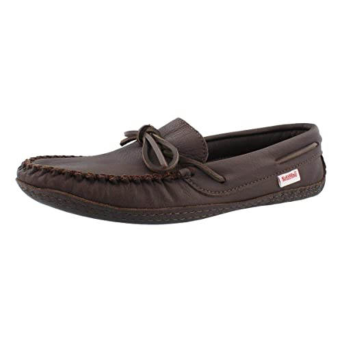c4b3c3d8ac6 SoftMoc Men's 3000 Double Sole Deerskin Leather Lined Moccasin