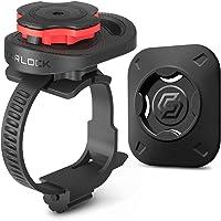 Spigen Gearlock Bike Phone Holder with Universal Adapter, Stem Type Bike Mount MS100 - Black