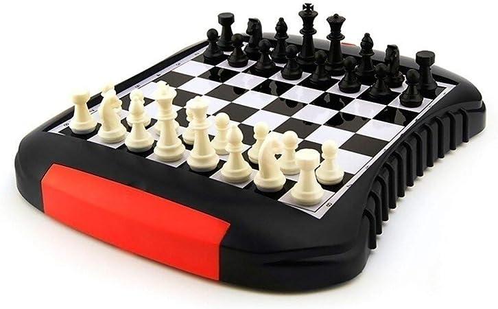 Bzsm Ajedrez de Viaje Set 32 Piezas/Juego de plástico ajedrez Chino Juego de ajedrez magnético Occidental de Mesa Regalos de Alta Gama de Entretenimiento Juego de Mesa, Regalo: Amazon.es: Hogar