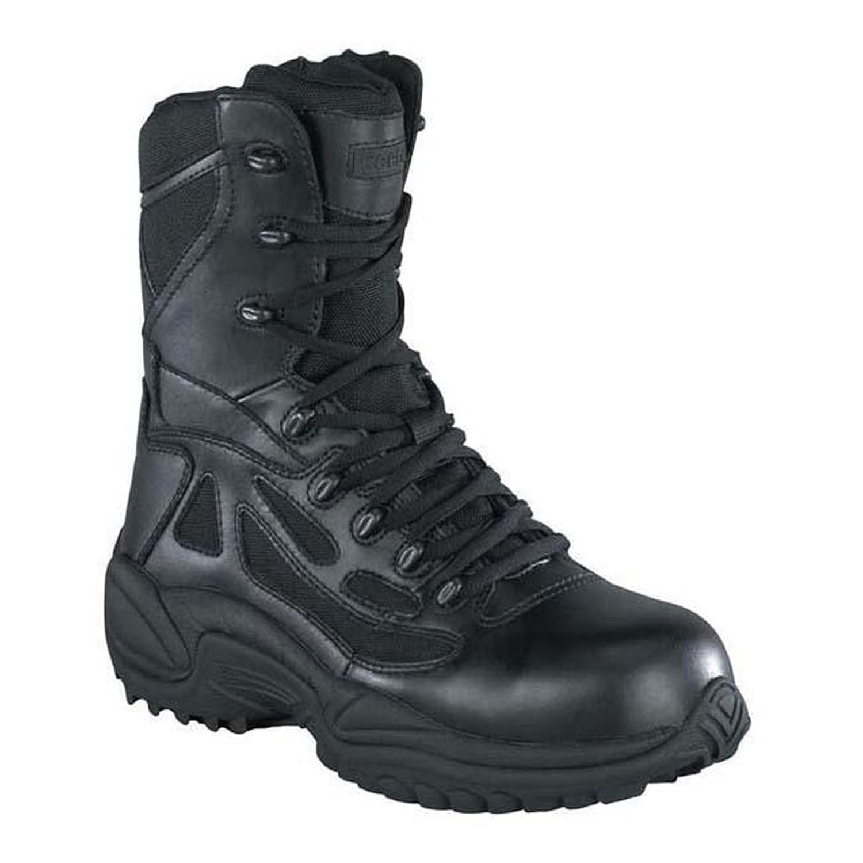 """Reebok Women's 8"""" Side-Zip Rapid Response Tactical Boot - Rb888 80%OFF"""