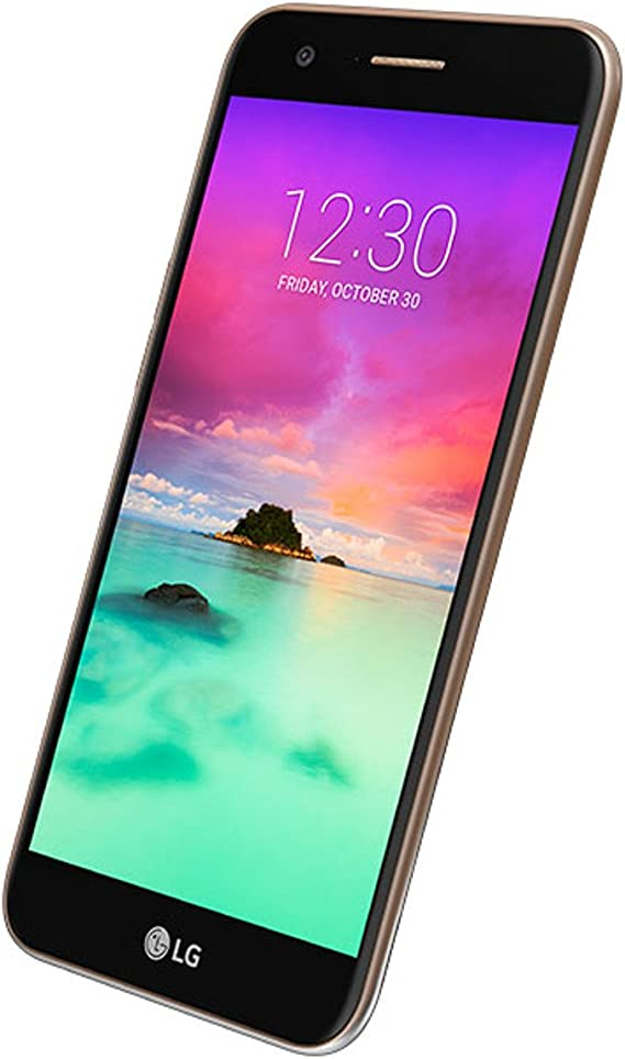 TIM LG K10 2017 (M250N) SIM única 4G 16GB Negro, Oro: Amazon.es ...