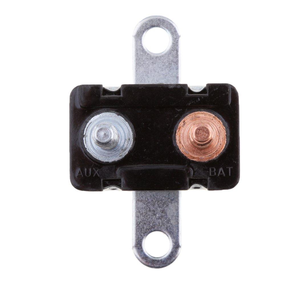 20A Type 1 MagiDeal Auto Reset 12V Circuit Breaker Car Automatic Fuse Metal Stud Bolt