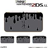 【new Nintendo 2DS LL 】 カバー ケース ハード デザイナーズケース :オワリ /ネコゾンビ ブラック