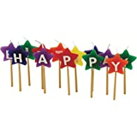 "Tala Cooking Forma de Estrella""Happy Birthday"", Parafina, Multicolor"