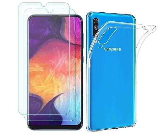 Amazon.com: MYLBOO - Carcasa para Samsung Galaxy A50 (con ...