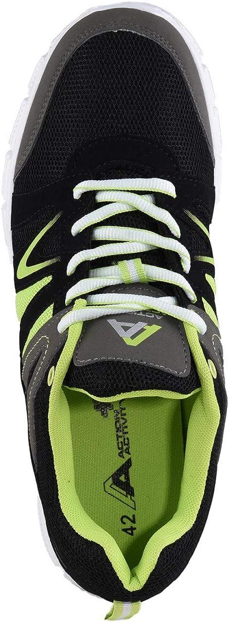 HSM Schuhmarketing Action Activity Chaussures de Fitness pour Homme Noir/Multi Noir