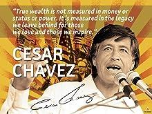 777 Tri-Seven Entertainment Cesar Chavez Poster Quote Labor Activist Education Art Print (24x18)
