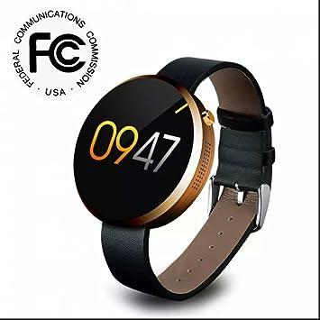 Smart Watch,Teléfonos Inteligentes Reloj Inteligente Deporte,Monitor de Ritmo Cardíaco,Sueño,Calorías,Podómetro Apoya la comunicación en cualquier momento ...