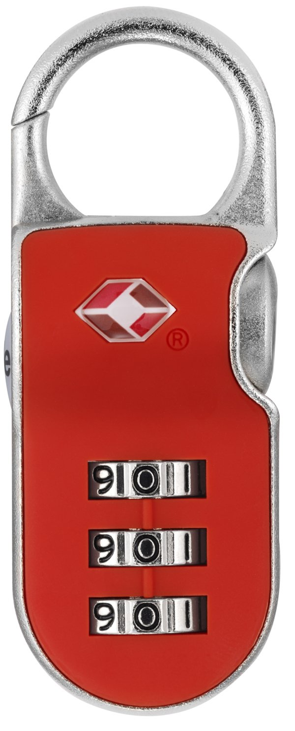 f91516195221 Yale YTP2/26/216/1 TSA Recognized Travel Lock with 3-Dial Resettable  Combination, 1-Inch Wide, Assorted Colors