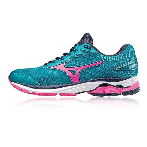 prix bas chaussures de course dégagement Amazon.com | Mizuno Wave Rider 20 Ladies Running Shoes ...