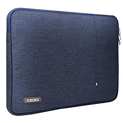 PUREBOX Laptop Sleeve, Black Blue / Grey