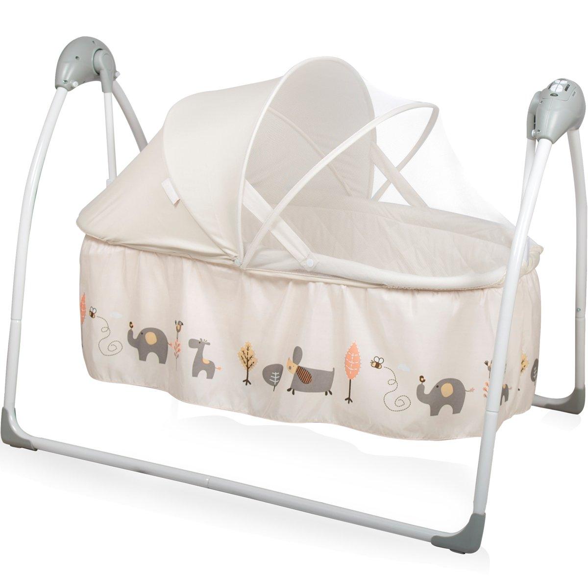 Babyschaukel/Babybett (vollautomatisch 240V) mit 5 ...