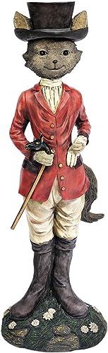 Design Toscano EU1047 Tally Ho Equestrian Fox Hunt Statue,full color