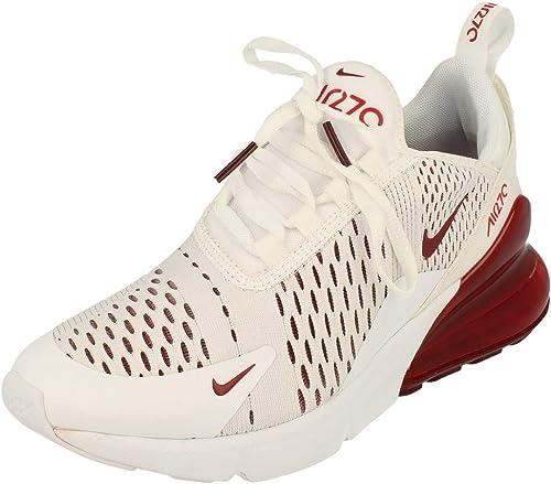 Nike Mädchen Air Max 270 (GS) Sneaker Weiß