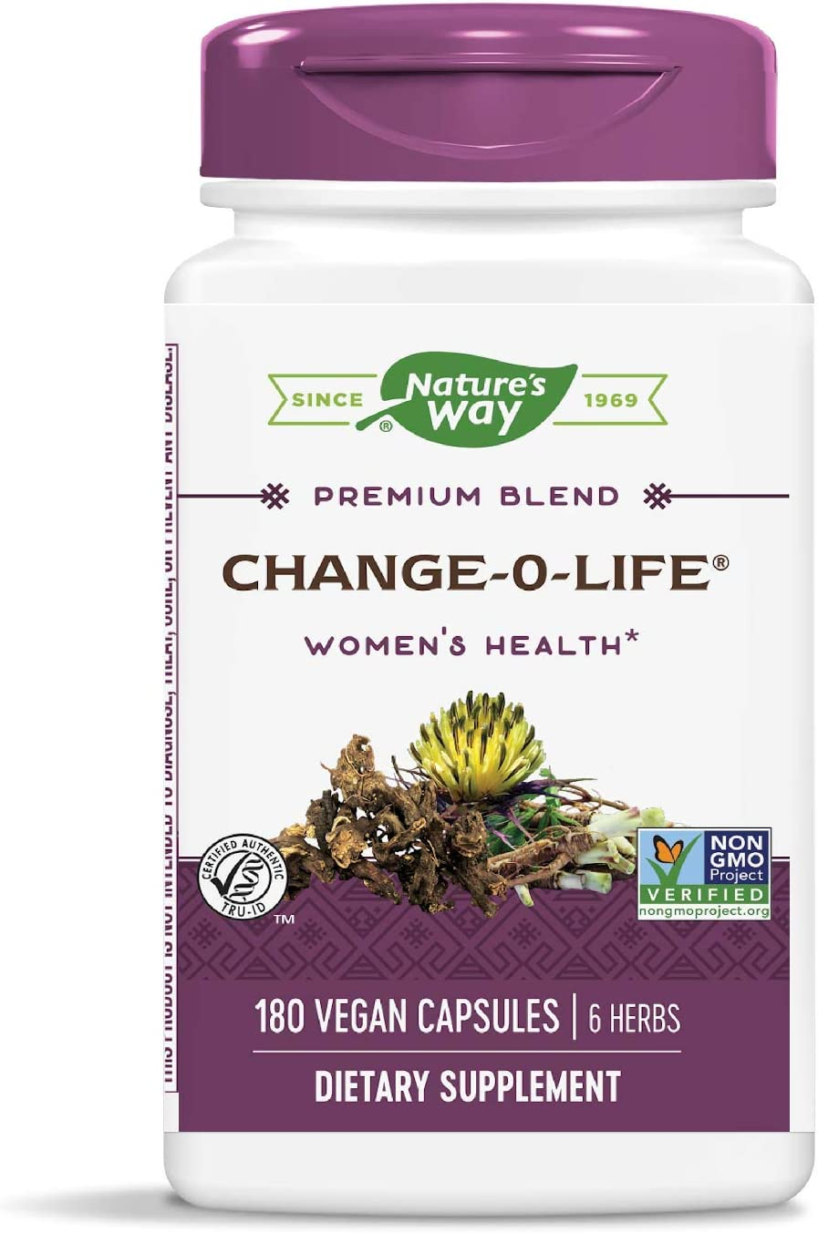 Nature's Way Change-O-Life Women's Health 7 Herb Blend, 180 Capsules