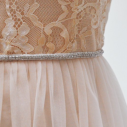 Sash Off Women's Bridal White Sashes Pearls S217 Wedding Crystal Belt Wedding for Belts Azaleas q7aBB
