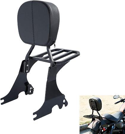 Xmt Motor Passenger Backrest Sissy Bar Luggage Rack Motorcycle For Harley Davidson Sportster Xl883 Xl1200 48 72 Iron 883 2004 2018 Auto