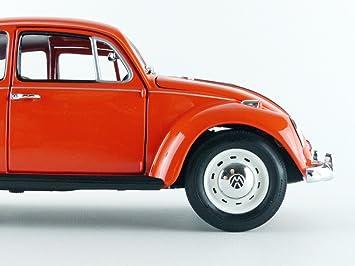 VW Maggiolino 1967 con Gremlins Gizmo personaggio Rosso modello di auto 1:18 Greenlight