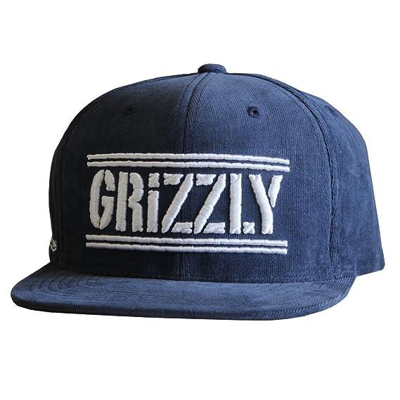 28b12274617 Grizzly Griptape Hunters Snapback Navy  Amazon.co.uk  Clothing