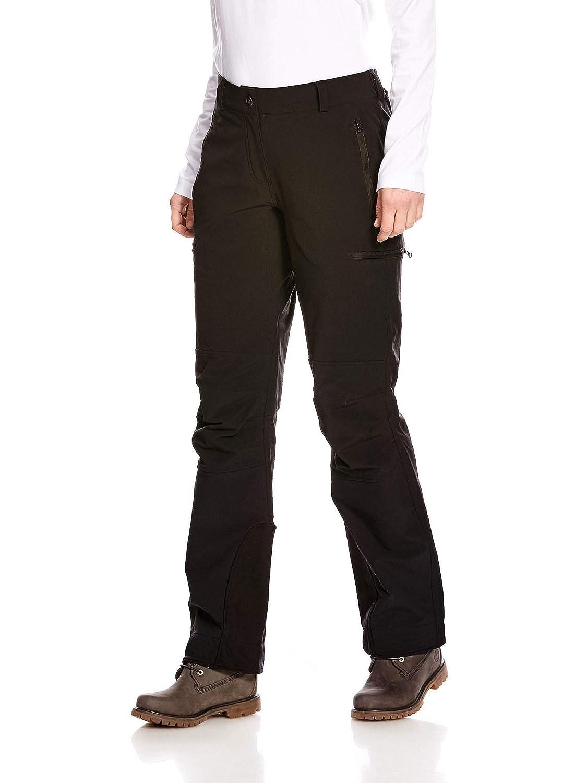 Tatonka Trekkinghose Bowles W's Pants - regenfeste Softshell-Hose für Frauen - mit Seitentaschen - robust und bequem - Regular Fit - PFC-frei