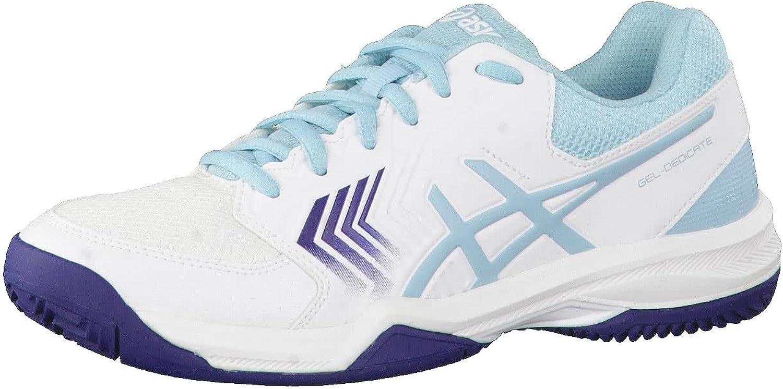 Asics Chaussures femme Gel-dedicate 5 Clay: Amazon.es: Deportes y ...
