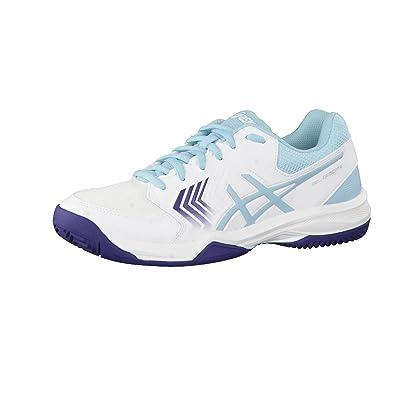 Asics Gel dedi Cate 5Clay Chaussures de Tennis Femme 44 Dunkelblau/Pink BgQhA35
