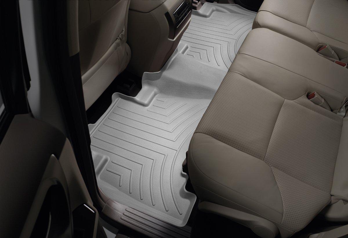 WeatherTech Rear FloorLiner for Select Ford Models Gray 463052