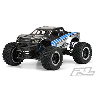Pro-line Racing 1/6 2020 Ford F-150 Raptor Pre-Cut Clear Body: XMAXX, PRO348217: Toys & Games