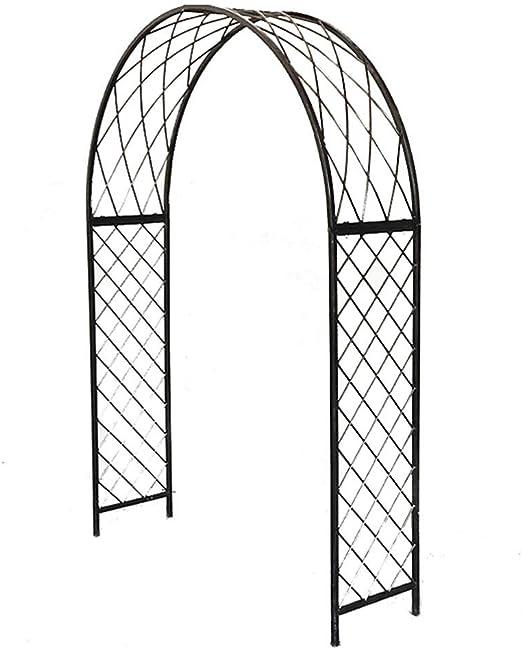 XLOO Arco de Metal para Bodas, estaca para Patio de Plantas ...