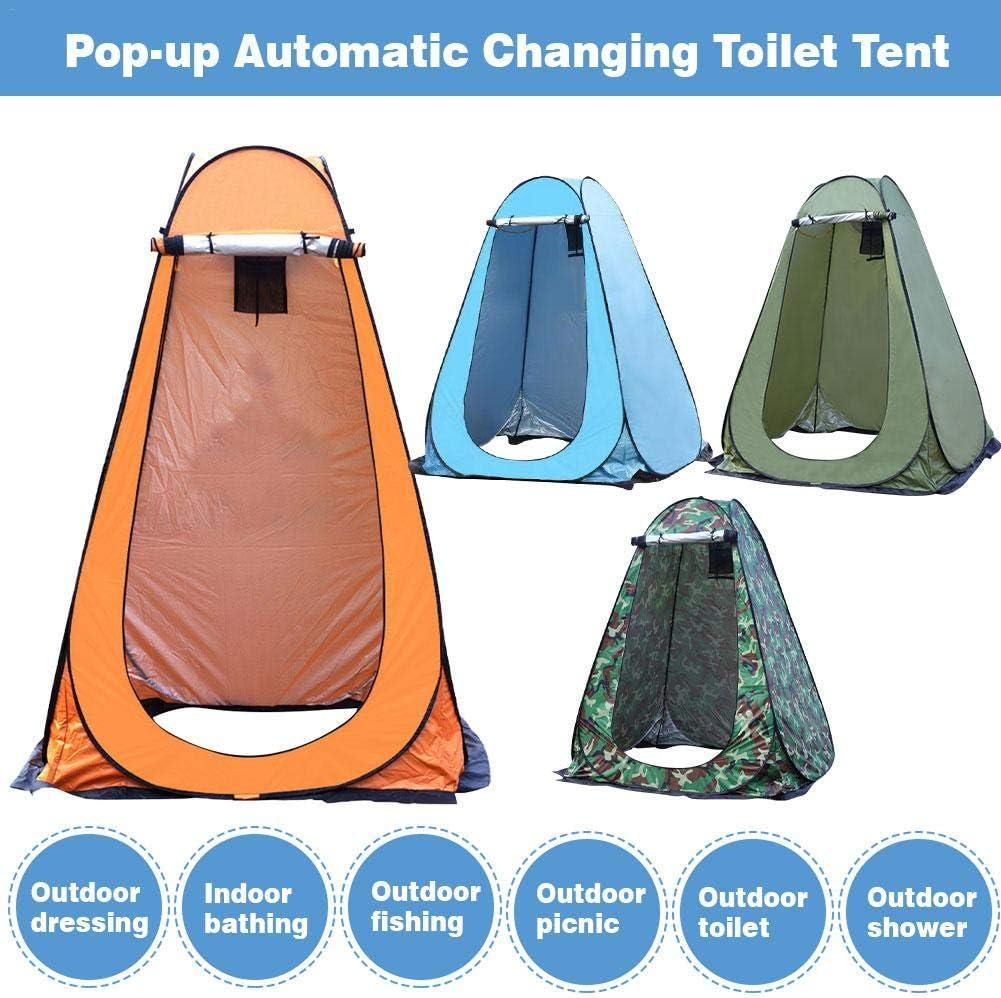 Sanmubo Trading Pop Up Pod Zelt Kleid Wickelzelt Einfache Einrichtung und Robustheit 59x59x75 Zoll Privacy Tent Tragbares Au/ßenduschzelt Camping Toilette Regenschutz f/ür Camping Strandausflug