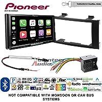 Pioneer AVH-W4400NEX Double Din Radio Install Kit with Wireless Apple CarPlay, Android Auto, Bluetooth Fits 2004-2010 Volkswagen Touareg
