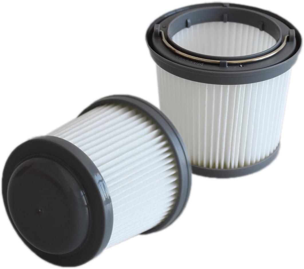 TeKeHom Filtro Plisado de Repuesto para aspiradoras Black & Decker Pivot Vac (2 Unidades): Amazon.es: Hogar