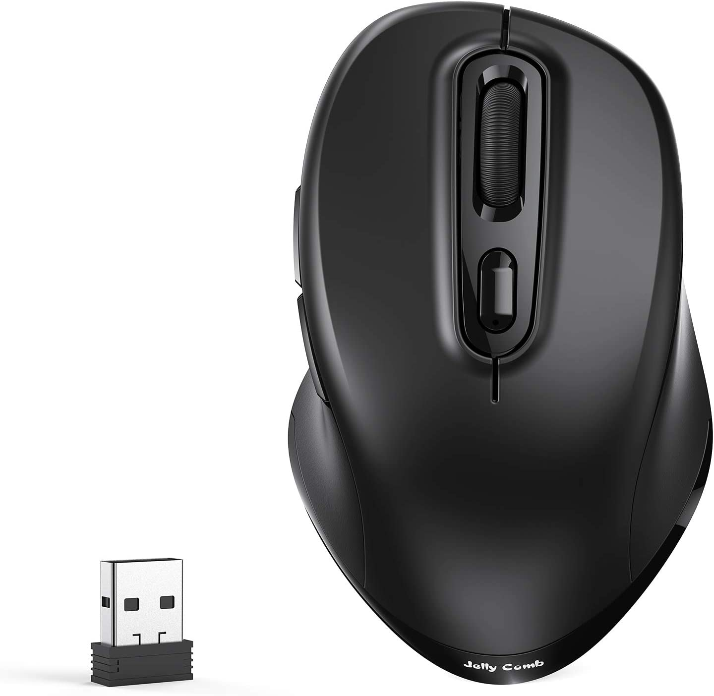 Jelly Comb Bluetooth Wireless Mouse 2 4g Usb Mouse Computers Accessories