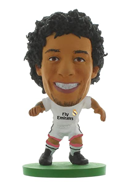 wholesale dealer 17842 dbd64 Soccerstarz Real Madrid CF Marcelo Vieira Home Kit: Amazon ...