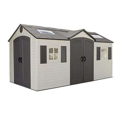 Superbe Dual Entry Garden Shed
