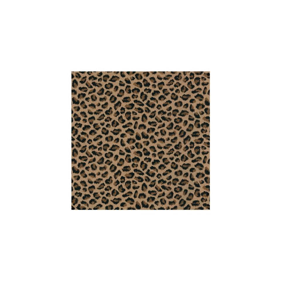 allen + roth Brown Leopard Print Wallpaper LW1341154