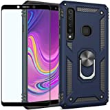 Strug for Samsung Galaxy A9 (2018) Case,Heavy Duty Shockproof Protection Built-in 360 Rotatable Ring Magnetic Car Mount…