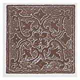Achim Home Furnishings WTV407AC10 Nexus Accent Burgundy 4 inch x 4 inch Self Adhesive Vinyl Wall Tile, 27 Tiles/3 Sq'.