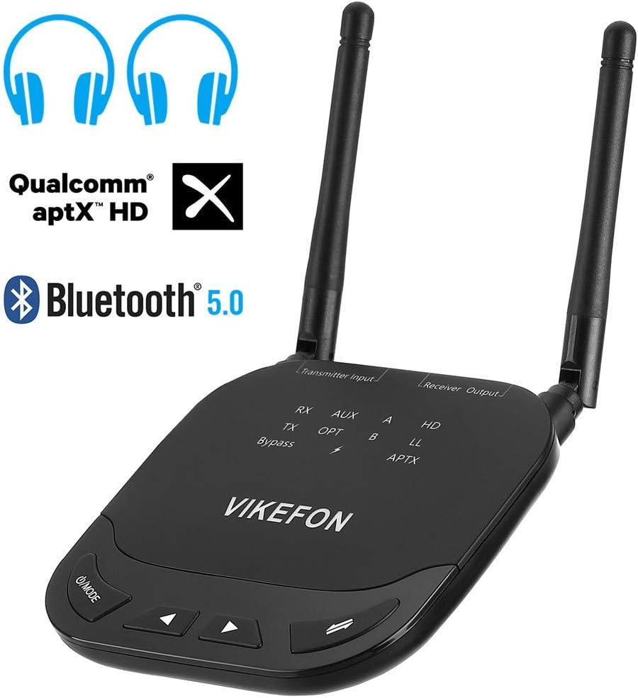3 In 1 Audio Receiver Long Range Bluetooth 5 0 Sender Empfänger Unterstützung Aptx Hd Ll Switch 80m Wireless Adapter Sport Freizeit