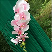 jiumengya 10pcs Artificial Phalaenopsis Butterfly Moth Orchid Fake Orchids Flower for Wedding Centerpieces Decorative Artificial Flowers (pink)