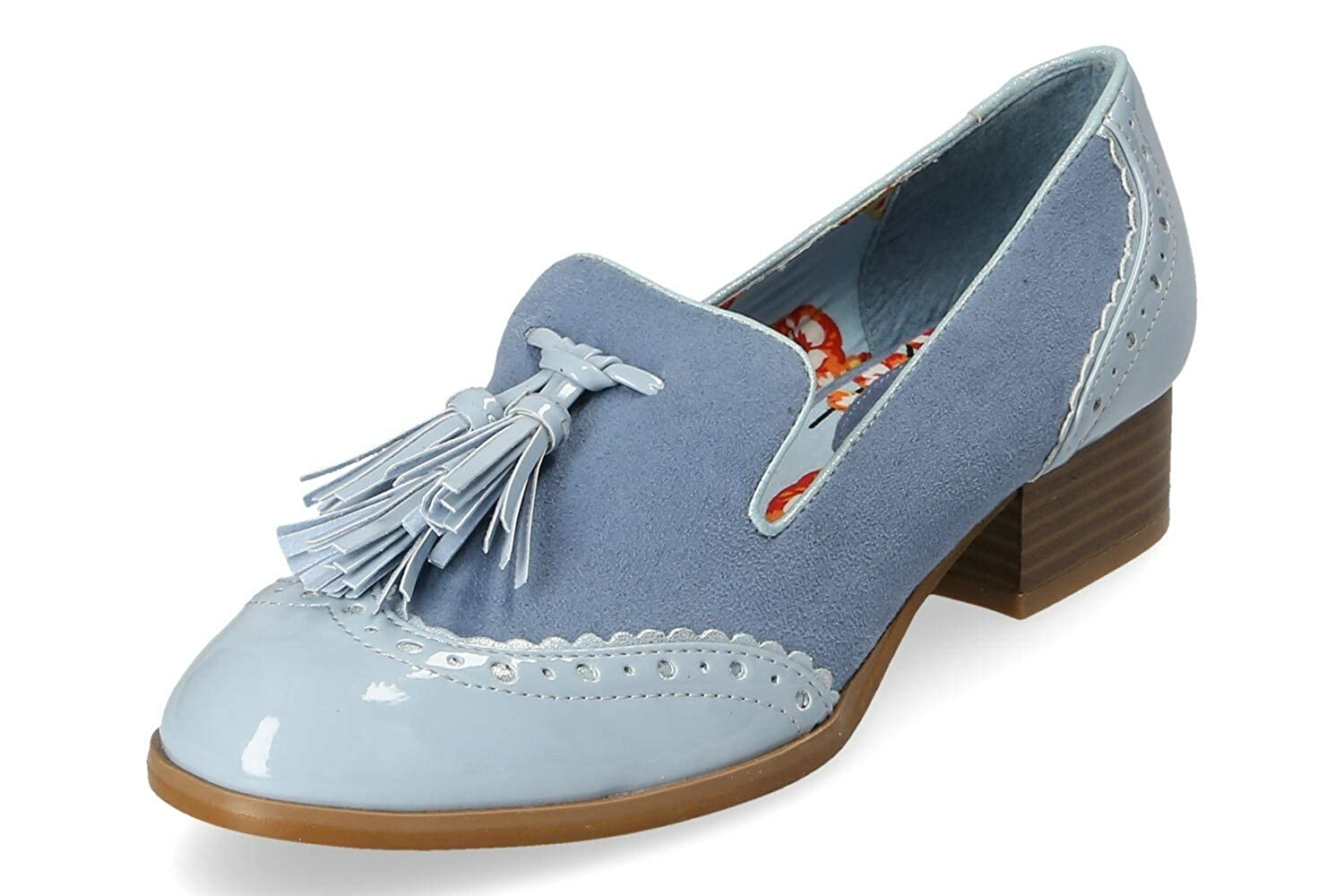 Ruby Shoo Damen Tara Pumps Blau Hell Gr. 37