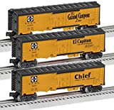 #9: Lionel Trains Santa Fe Map and Slogan Reefer Cars (3-Pack)