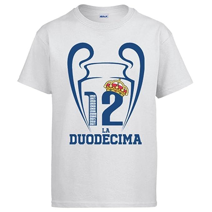 Diver Bebé Camiseta Real Madrid La Duodécima Champ12ns: Amazon.es: Ropa y accesorios
