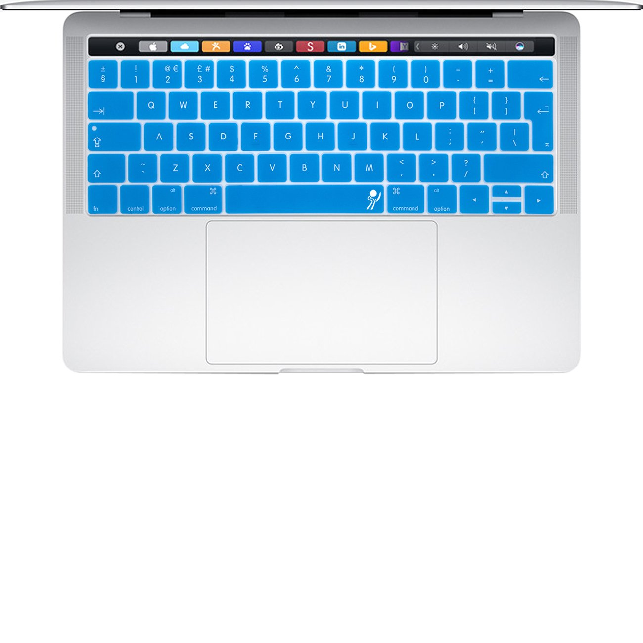 Blue 2016 Released, U.S Version ProElife NEW Ultra Thin Silicone Keyboard Protector Cover Skin for Apple New MacBook Pro with Touch Bar /& Retina Screen 13 Inch A1706 /& 15 Inch A1707
