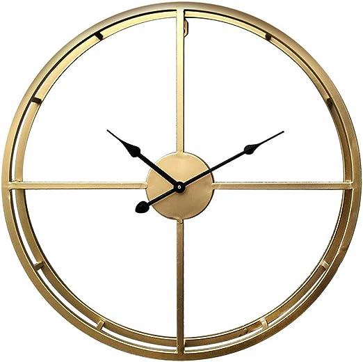 LZLNK Reloj de Pared Grande Reloj Colgante Reloj Digital de Pared Breve Reloj Simple Superficie Lisa: Amazon.es: Hogar